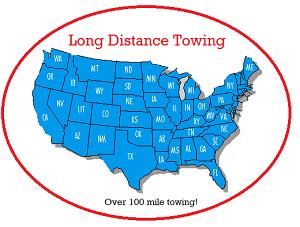 Long Distance Car Towing Rates